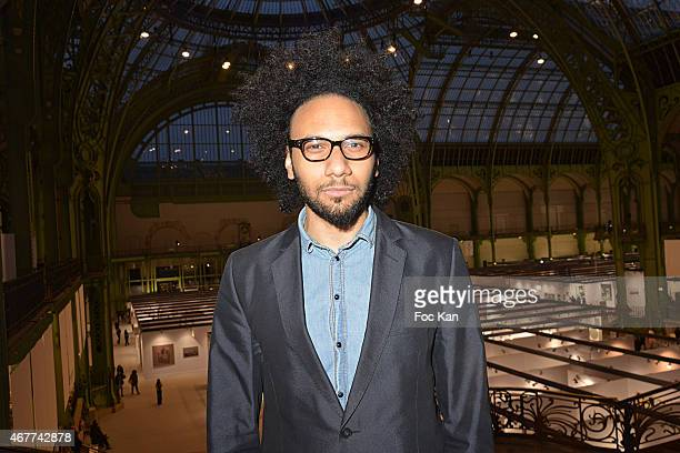 Actor Yassine Azzouz attends the 'Diamond Night by Divinescence Vendome' Harumi Klossowska Jewellery Exhibition Preview As Part Of Art Paris Art Fair...