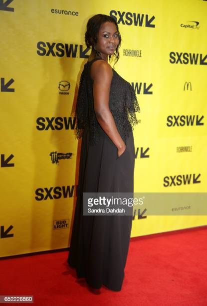 Actor Yetide Badaki attends the premiere of 'American Gods' during 2017 SXSW Conference and Festivals at Vimeo on March 11 2017 in Austin Texas