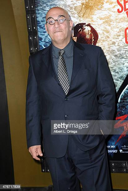 Actor Yigal Naor arrives for the Premiere Of Warner Bros Pictures And Legendary Pictures' '300 Rise Of An Empire' held at TCL Chinese Theatre on...