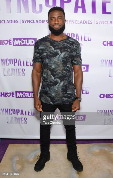 Actor Y'lan Noel arrives at Chloe Arnold's Syncopated Ladies LA concert premiere at John Anson Ford Amphitheatre on July 28 2017 in Hollywood...