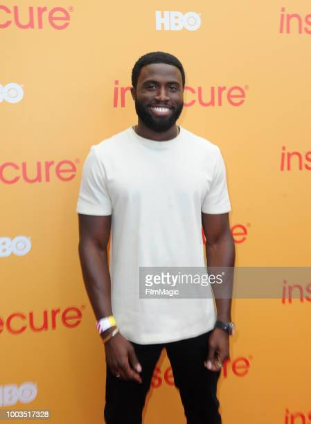 Actor Y'lan Noel attends HBO's Insecure Block Party at Banc of California Stadium on July 21 2018 in Los Angeles California