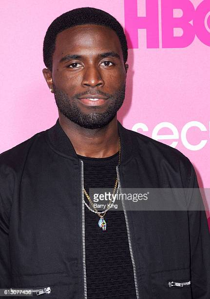Actor Y'Lan Noel attends the premiere of HBO's 'Insecure' at Nate Holden Performing Arts Center on October 6 2016 in Los Angeles California