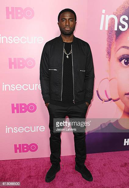 Actor Y'lan Noel attends the premiere of 'Insecure' at Nate Holden Performing Arts Center on October 6 2016 in Los Angeles California