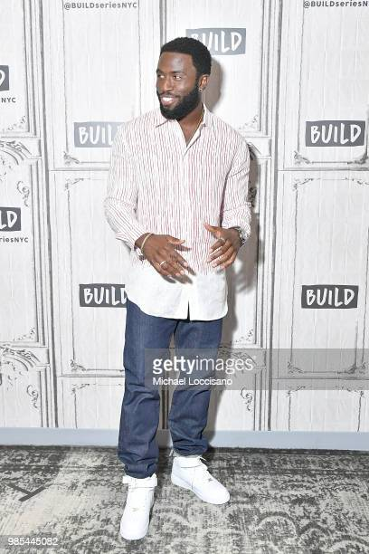 Actor Y'lan Noel visits Build to discuss 'The First Purge' at Build Studio on June 27 2018 in New York City