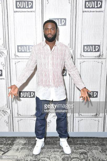 Actor Y'lan Noel visits Build to discuss The First Purge at Build Studio on June 27 2018 in New York City