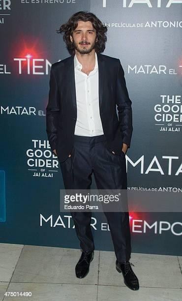 Actor Yon Gonzalez attends 'Matar el tiempo' premiere at Capitol cinema on May 28 2015 in Madrid Spain