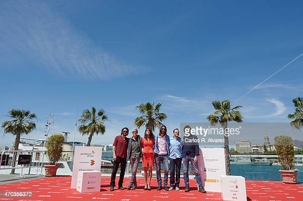 Actor Yon Gonzalez director Antonio Hernanrdez actress Esther Mendez actor Aitor Luna actor Ben Temple and musician Antonio Galeano attend the Matar...