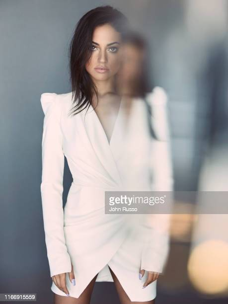 Actor Youtuber director singer and model Inanna Sarkis is photographed for Gio Journal on February 22 2019 in Los Angeles California
