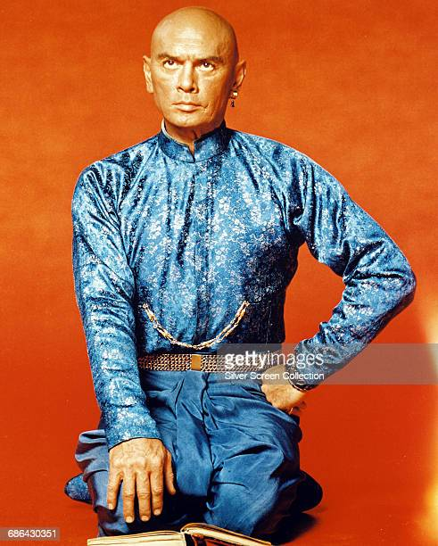 Actor Yul Brynner as King Mongkut of Siam in a publicity still for the film 'The King and I' 1956