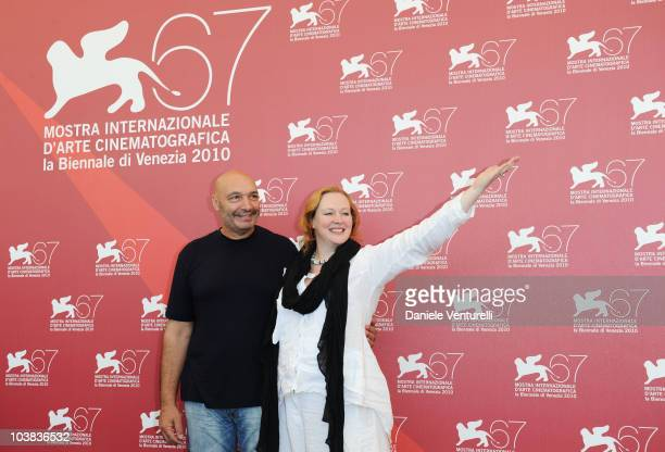 Actor Yuriy Tsurilo and Actress Yuliya Aug attend the 'Silent Souls' photocall at the Palazzo del Casino during the 67th Venice International Film...