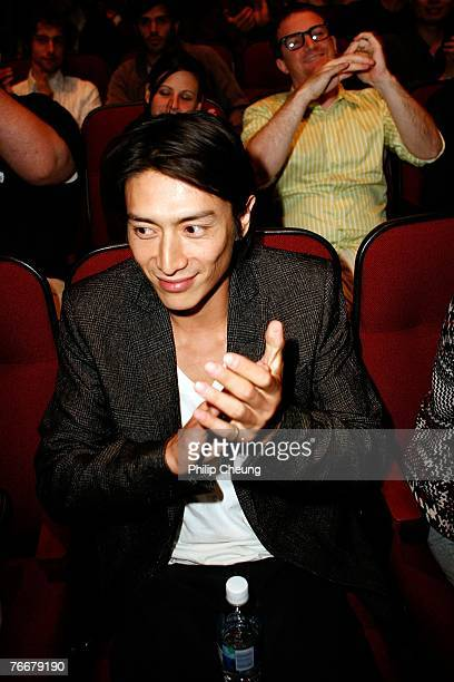Actor Yusuke Iseya attends the Sukiyaki Western Django North American Premiere screening during the Toronto International Film Festival 2007 held at...