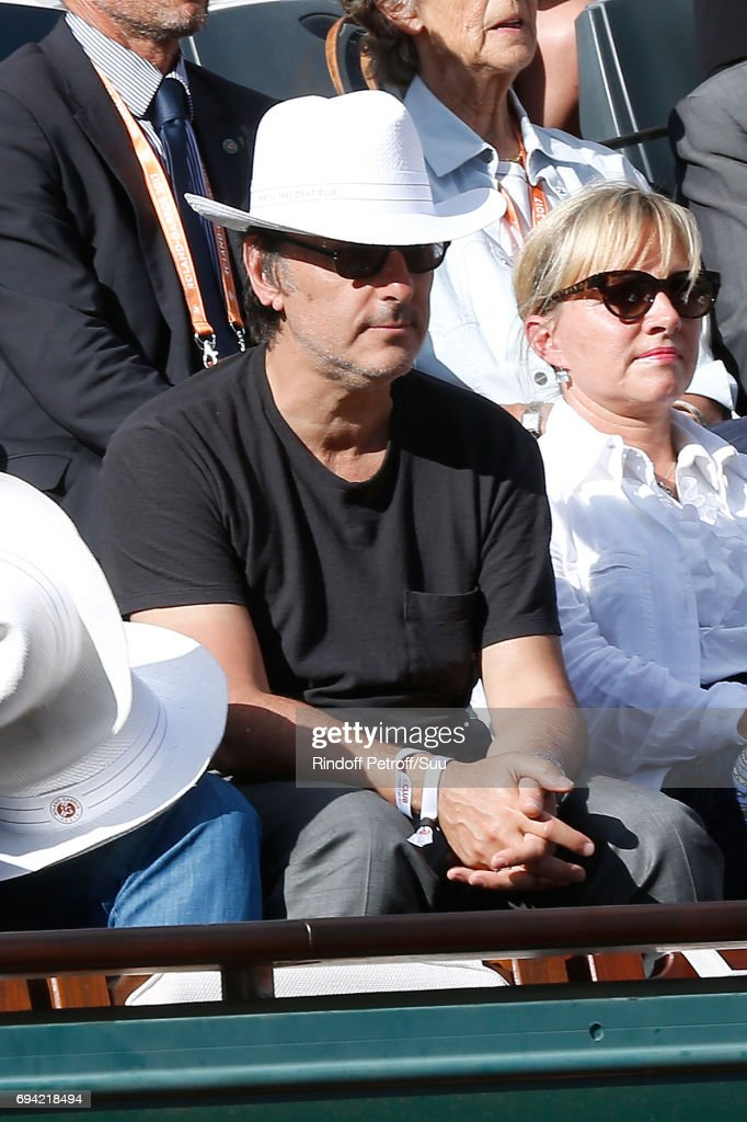 Celebrities At  2017 French Open - Day Thirteen : News Photo