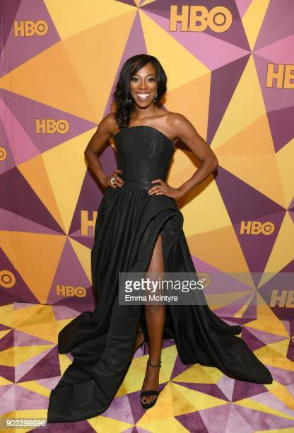 Actor Yvonne Orji attends HBO's Official Golden Globe Awards After Party at Circa 55 Restaurant on January 7 2018 in Los Angeles California