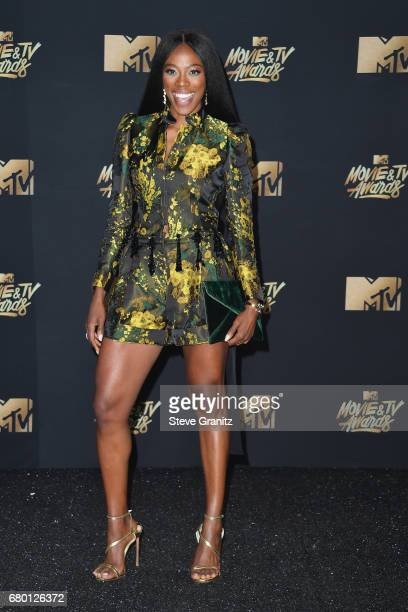 Actor Yvonne Orji attends the 2017 MTV Movie and TV Awards at The Shrine Auditorium on May 7 2017 in Los Angeles California