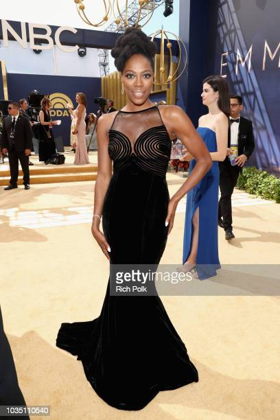 Actor Yvonne Orji attends the 70th Annual Primetime Emmy Awards at Microsoft Theater on September 17 2018 in Los Angeles California