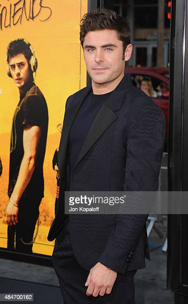 Actor Zac Efron arrives at the Los Angeles Premiere We Are Your Friends at TCL Chinese Theatre on August 20 2015 in Hollywood California