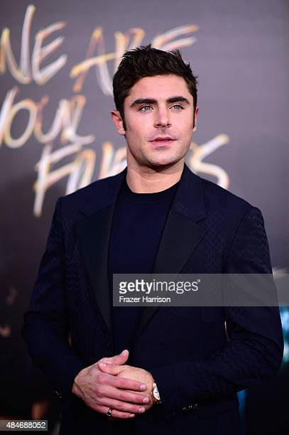 Actor Zac Efron arrives at the Premiere Of Warner Bros Pictures' 'We Are Your Friends' at TCL Chinese Theatre on August 20 2015 in Hollywood...