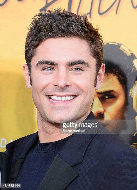 Actor Zac Efron arrives at the Premiere Of Warner Bros Pictures' We Are Your Friends at TCL Chinese Theatre on August 20 2015 in Hollywood California