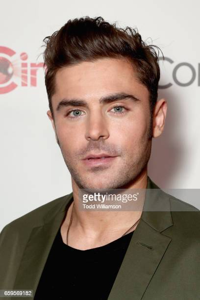Actor Zac Efron at CinemaCon 2017 Paramount Pictures Presentation Highlighting Its Summer of 2017 and Beyond at The Colosseum at Caesars Palace...