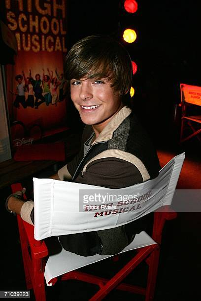 """Actor Zac Efron attends a press conference for """"High School Musical"""" at the State Theatre on May 25, 2006 in Sydney, Australia."""