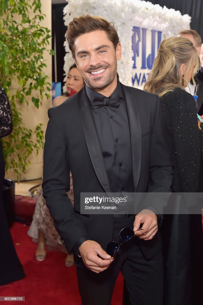 Actor Zac Efron attends The 75th Annual Golden Globe Awards at The Beverly Hilton Hotel on January 7, 2018 in Beverly Hills, California.