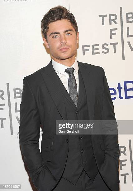 Actor Zac Efron attends the screening of 'At Any Price' during the 2013 Tribeca Film Festival at BMCC Tribeca PAC on April 19, 2013 in New York City.