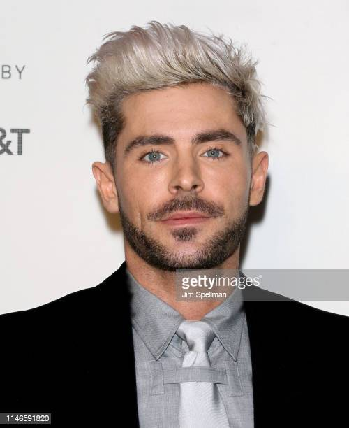 """Actor Zac Efron attends the screening of """"Extremely Wicked, Shockingly Evil and Vile"""" during the 2019 Tribeca Film Festival at BMCC Tribeca PAC on..."""