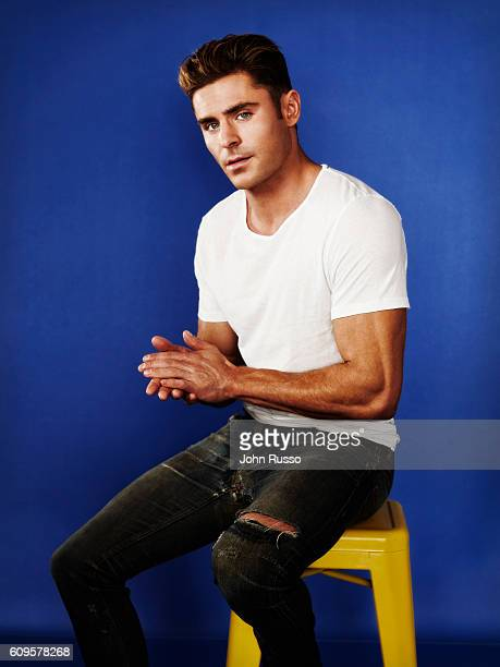 Actor Zac Efron is photographed for 20th Century Fox on May 26 2016 in Los Angeles California