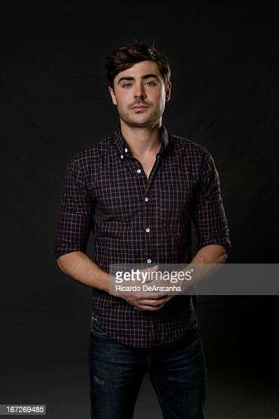 Actor Zac Efron is photographed for Los Angeles Times on March 28 2013 in Beverly Hills California PUBLISHED IMAGE CREDIT MUST READ Ricardo...