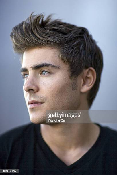 Actor Zac Efron poses at a portrait session for the Los Angeles Times in Marina Del Rey CA on July 29 2010 PUBLISHED IMAGE CREDIT MUST READ Francine...