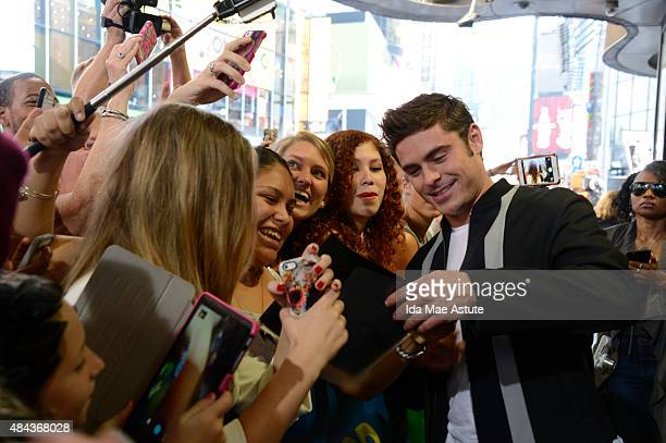 AMERICA Actor Zac Efron starring in a new film 'We Are Your Friends' about the world of DJing in Los Angeles electronic dance music scene appears on...