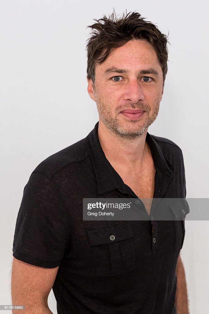 Actor Zach Braff arrives for the Elizabeth Glaser Pediatric AIDS Foundation's 27th Annual A Time For Heroes at Smashbox Studios on October 23, 2016 in Culver City, California.