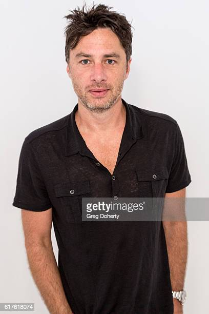 Actor Zach Braff arrives for the Elizabeth Glaser Pediatric AIDS Foundation's 27th Annual A Time For Heroes at Smashbox Studios on October 23, 2016...