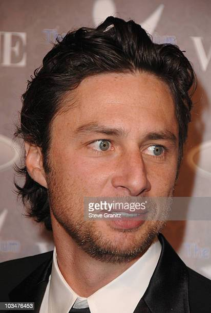 Actor Zach Braff arrives to The Art of Elysium 10th Anniversary Gala at Vibiana on January 12, 2008 in Los Angeles, California.