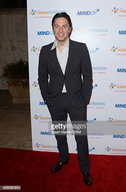 Actor Zach Braff attends Goldie Hawn's inaugural 'Love In For Kids' benefiting the Hawn Foundation's MindUp program transforming children's lives for...
