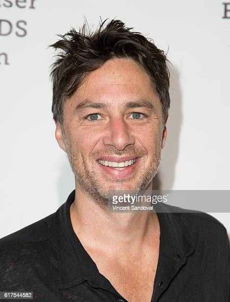 Actor Zach Braff attends the Elizabeth Glaser Pediatric AIDS Foundation's 27th annual 'A Time For Heroes' at Smashbox Studios on October 23 2016 in...