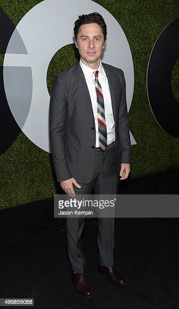 Actor Zach Braff attends the GQ 20th Anniversary Men Of The Year Party at Chateau Marmont on December 3, 2015 in Los Angeles, California.