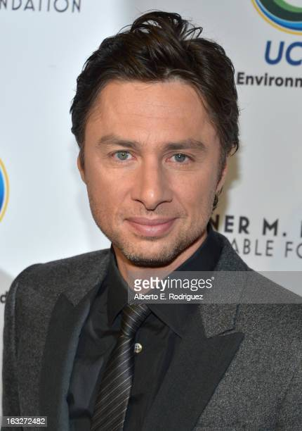 Actor Zach Braff attends the UCLA Institute Of The Environment And Sustainability's 2nd Annual Evening Of Environmental Excellence on March 5, 2013...