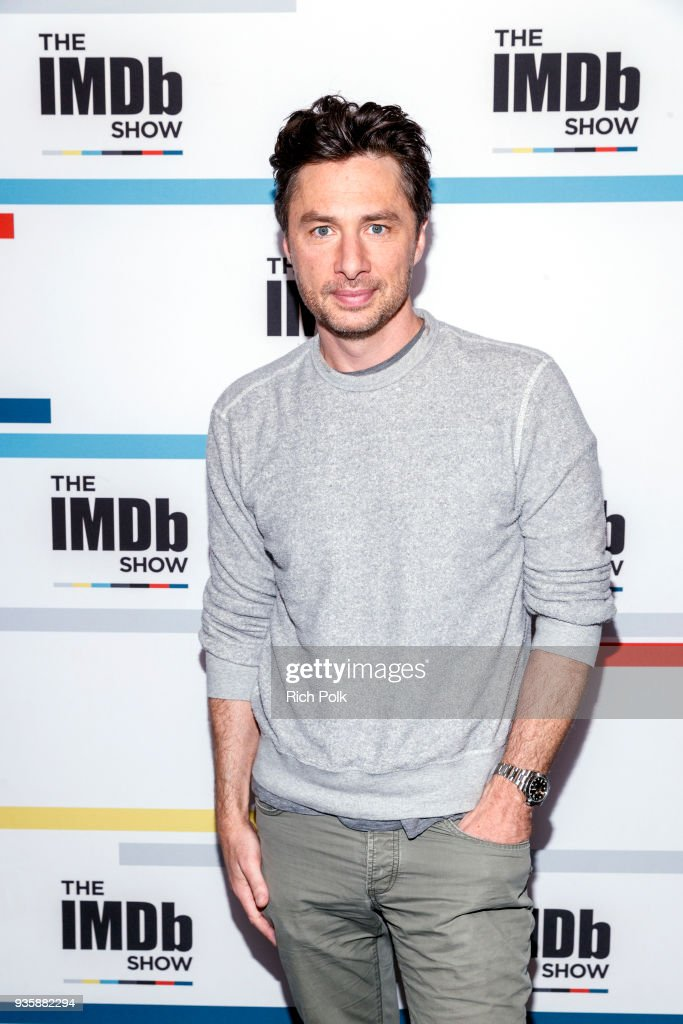 Actor Zach Braff visits 'The IMDb Show' on March 15, 2018 in Studio City, California. This episode of 'The IMDb Show' airs on March 21, 2018.