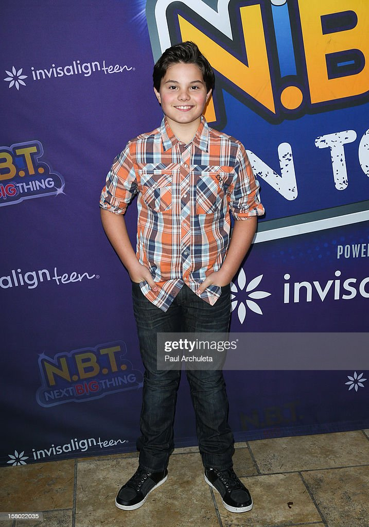 Actor Zach Callison attends the Radio Disney's 'N.B.T.' (Next BIG Thing) season five winner announcements at The Americana at Brand on December 8, 2012 in Glendale, California.
