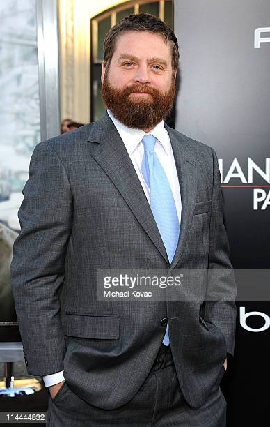 Actor Zach Galifianakis attends 'The Hangover Part II' Premiere sponsored by 'AXE Excite' at Grauman's Chinese Theatre on May 19 2011 in Hollywood...