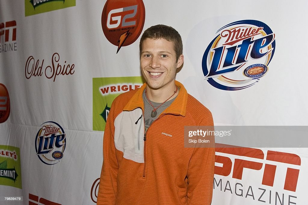 Actor Zach Gilford from Friday Night Lights arriving at the ESPN The Magazine's After Dark Party in the Metropolitan Big Room at Generations Hall on February 15, 2008 in New Orleans, Louisiana.