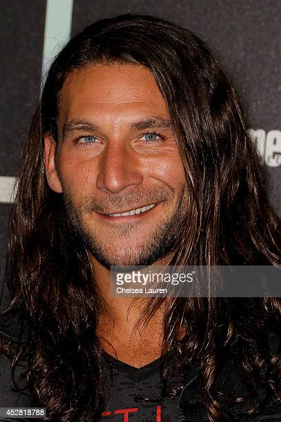 Actor Zach McGowan arrives at Entertainment Weekly's Annual Comic Con Celebration at Float at Hard Rock Hotel San Diego on July 26 2014 in San Diego...