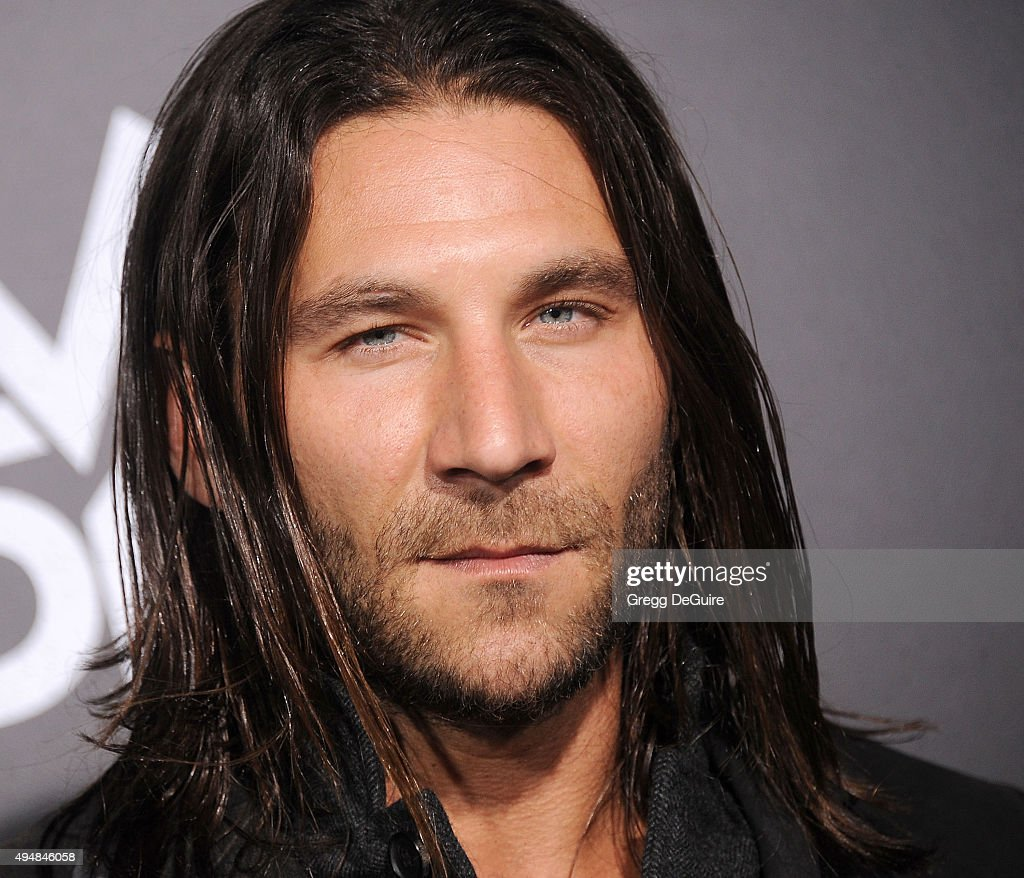 Actor Zach McGowan arrives at the premiere of STARZ's 'Ash Vs Evil Dead' at TCL Chinese Theatre on October 28, 2015 in Hollywood, California.