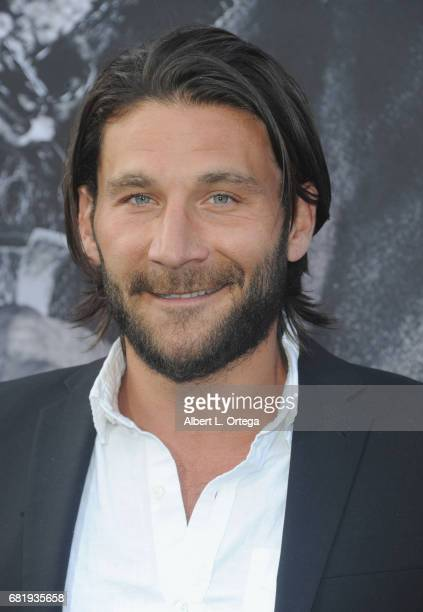 Actor Zach McGowan arrives for the Premiere Of Warner Bros Pictures' King Arthur Legend Of The Sword held at TCL Chinese Theatre on May 8 2017 in...