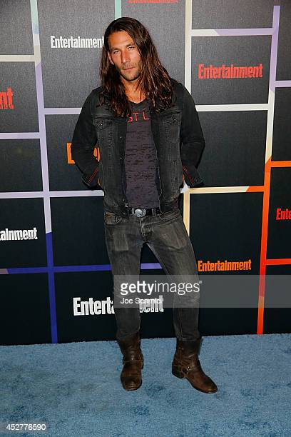 Actor Zach McGowan arrives to Entertainment Weekly's Annual Comic Con Celebration during ComicCon International 2014 at Float at Hard Rock Hotel San...