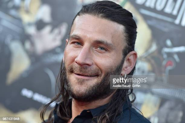 Actor Zach McGowan attends Columbia Pictures' 'Sicario Day of the Soldado' Premiere at Regency Village Theatre on June 26 2018 in Westwood California