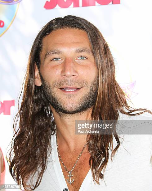 Actor Zach McGowan attends Disney Junior's 'Pirate And Princess Power Of Doing Good' tour at Brookside Park on August 16 2014 in Pasadena California