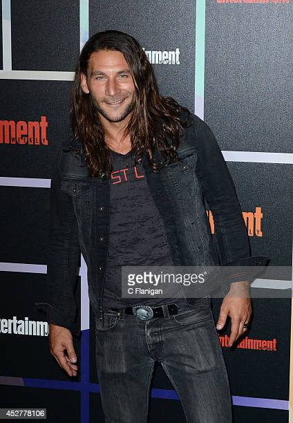 Actor Zach McGowan attends Entertainment Weekly's annual ComicCon celebration at Float at Hard Rock Hotel San Diego on July 26 2014 in San Diego...