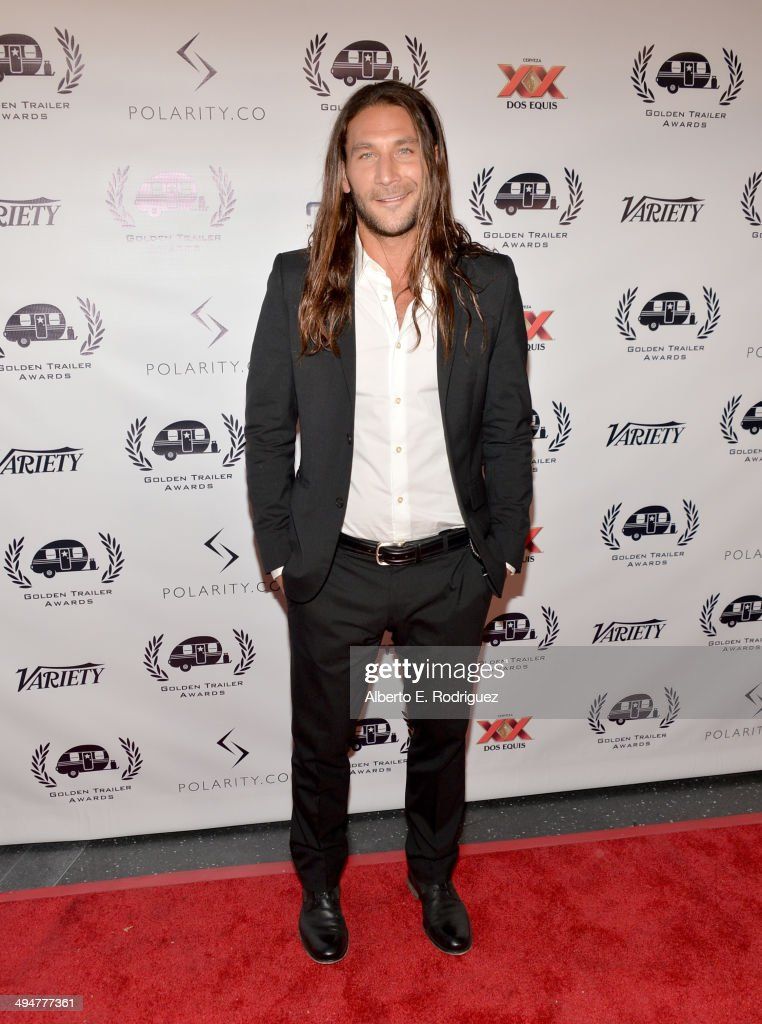 Actor Zach McGowan attends the 15th Annual Golden Trailer Awards at Saban Theatre on May 30, 2014 in Beverly Hills, California.